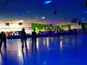 blue rink